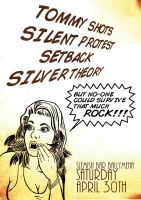 Gig Poster- Silent Protest by Jesterman