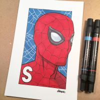 S is for Spider-Man by D-MAC