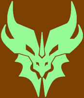 Predacon Dragon 102 (Chocolate-Mint) by Trapped-Echoes