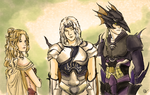 Rosa, Cecil, Kain by style-xx