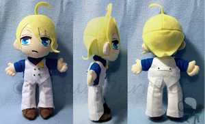 Commission: Gill Plushie by Meip
