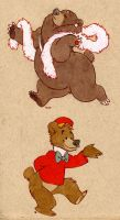 2 burrs by luve