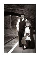 Railway Couple by PicTd