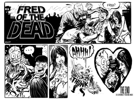 FRED OF THE DEAD - CRUSH by sayunclecomics
