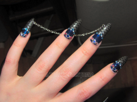 thor inspired nails by xtheungodx