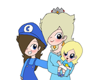 Rosalina and her Daughters by Rotommowtom