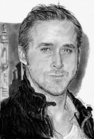 Ryan Gosling by Catluckey