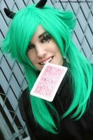 Gumi - Vocaloid version Poker face by Seb-Photography