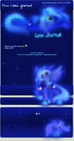 MLP Luna Journal by DBluver