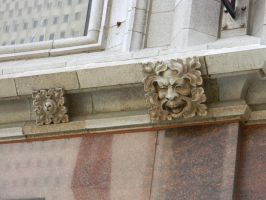 Chicago Face Carvings by EndOfGreatness