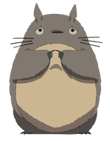 Sad Totoro by Jax89man