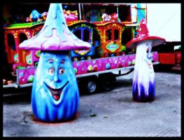 Fungus at the Circus by MushroomBrain
