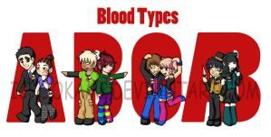 The Blood Types by icyookami