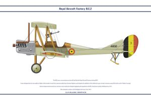 RAF BE2c Belgium by WS-Clave