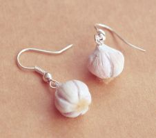 Garlic Earrings by BadgersBakery