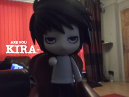 Nendroid L Are you KIRA? by Puffypaw