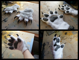 Charr Handpaws by CuriousCreatures