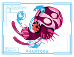 Metroid Scan: Phantoon by Samolo