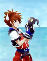 It's 'cute'...I guess by kingdomhearts