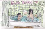 Sasuke and Itachi's Bath Time by MeowMeowKy
