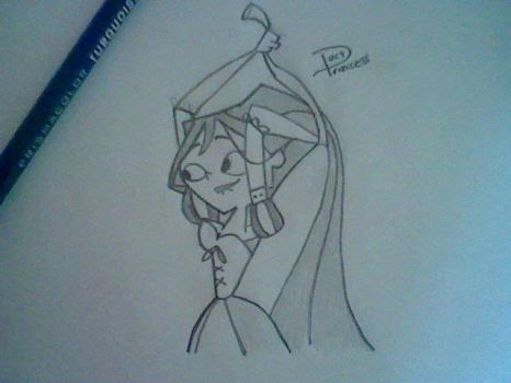 Courtney Rapunzel. 1:0 by DuctPrincess