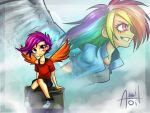 Scootaloo's wish for the Sky by Ereb-Tauramandil