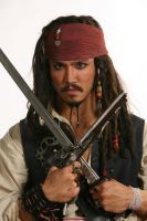 Captain Jack Closeup by gstqfashions