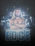 Thank You Edge Poster - WWE by TheSlime007