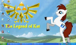 my desktop picture~!!! by Nintendo-Lover-Kat