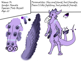 Fi ref sheet by DarkNymfa