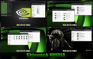 Nvidia Skinpack For Win 7/8/8.1 by TheDhruv