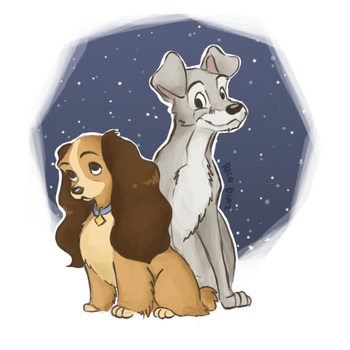 Lady and the Tramp by vanipy05