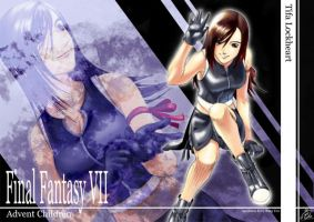 FFVII AC again by Agustinus