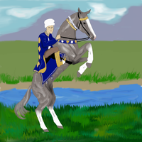 Turkman and a Teke by silvershore