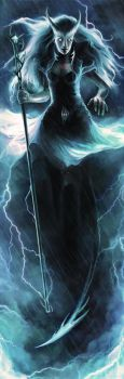 WoTC - Storm Sorcerer by mike-nash