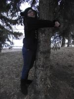 Tree Hugger1 by thetearunshead