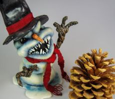 Evil Snowman - Avalable by AlwaysSuagarCoated