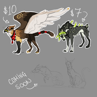 hah more adopts 1 OPEN by ChocolateFishFins