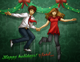 Happy Holidays 2011 by mumpo