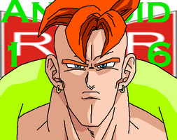 Android 16 by AshuraTheHedgehog199