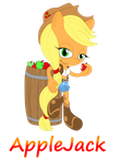 Mobian Applejack by Skyward-Spark-25