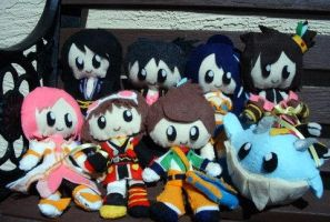 Tales of Vesperia Plushies by Pinkproposal