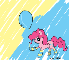 Pinkie Pie Socks by Coconeru