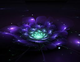 Fractal Flower 1.0 by CryoGfx