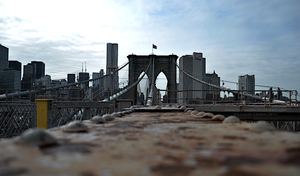 Brooklyn Bridge HDR by impulsives