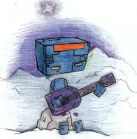 Snowbot by Hoboweasel