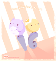 Happy Birthday to meee ouo by Citron-Ami