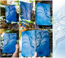 Wind Spirit Leather Book by AlectorFencer