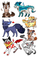 Random batch adopts -ONLY ONE LEFT- by FittaKuk