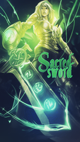 Sacred Sword by hamfr1